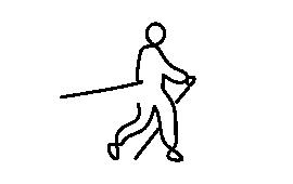 Porównanie wpływu marszu z kijkami i bez na aktywację mięśni kończyn górnych i dolnych