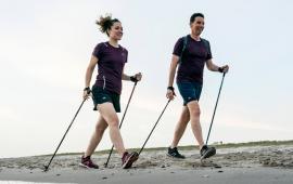 Testy terenowe mające na celu określenie obciążenia biomechanicznego kończyny dolnej podczas nordic walking w porównaniu z marszem