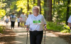 Wpływ Nordic Walking na skład ciała, siłę mięśni i profil lipidowy u starszych kobiet.