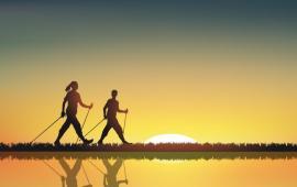 Wpływ nordic walking na ruch miednicy i aktywność mięśni wokół stawów biodrowych u osób dorosłych